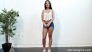 Tight Latina and Fucked During Audition