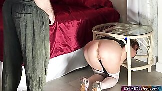Stuck stepmom fucked by stepson Erin Electra