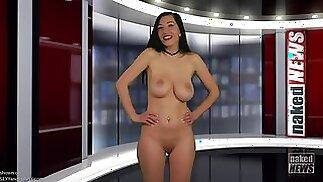 Naked news q&ampa hanna orio